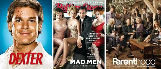 dexter mad men parenthood
