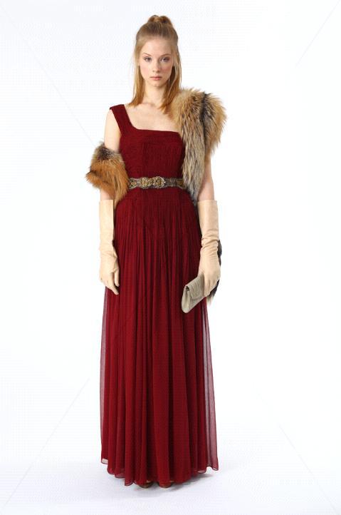 elie tahari vestido vermelho pre fall
