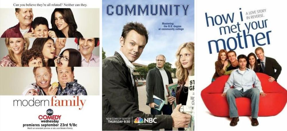 modern family community how i met your mother