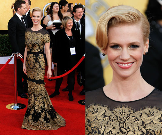 January Jones SAG Awards 2011