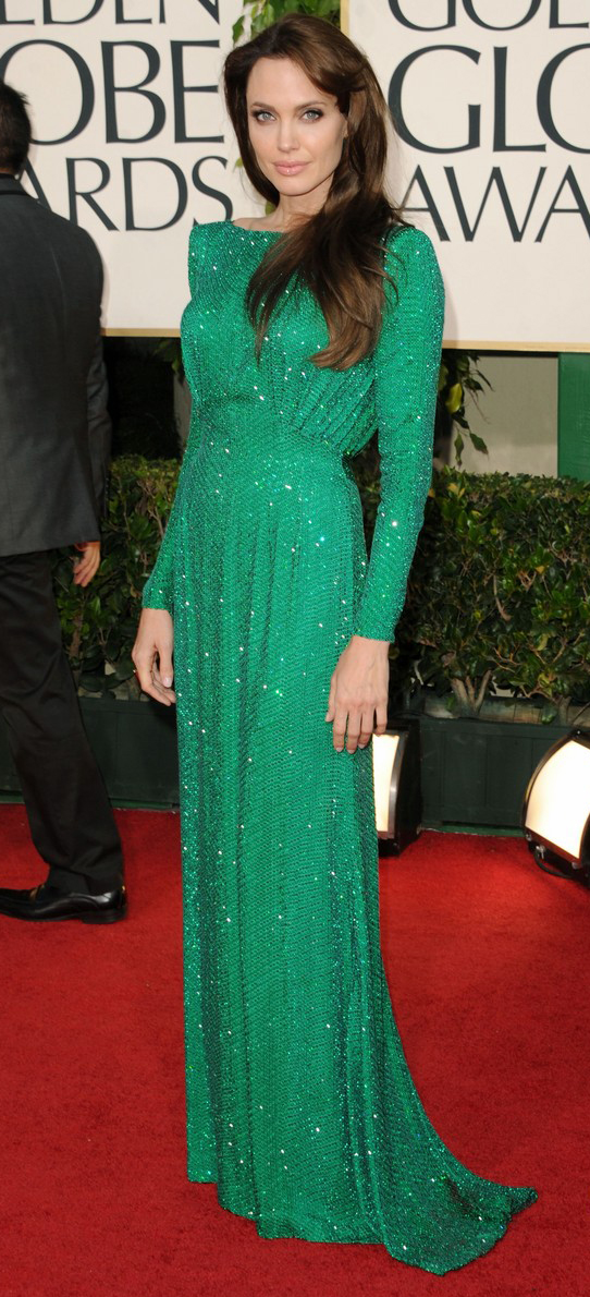 Angelina Jolie Golden Globes 2011