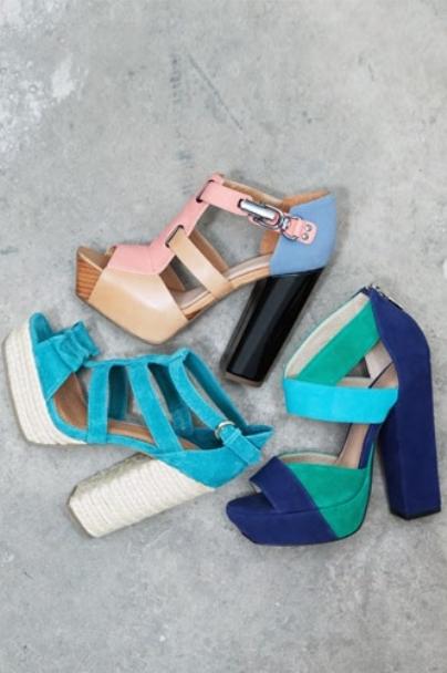 asos spring 2011 lookbook shoes