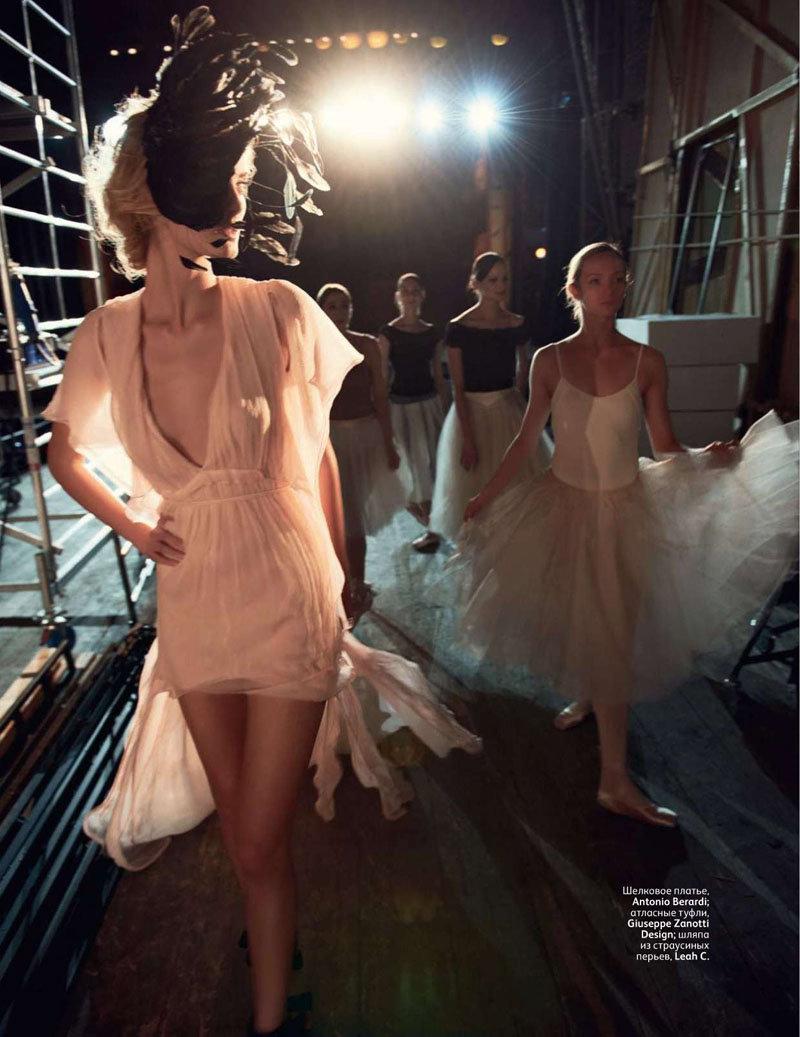 editorial balé Vogue Rússia fevereiro 2011