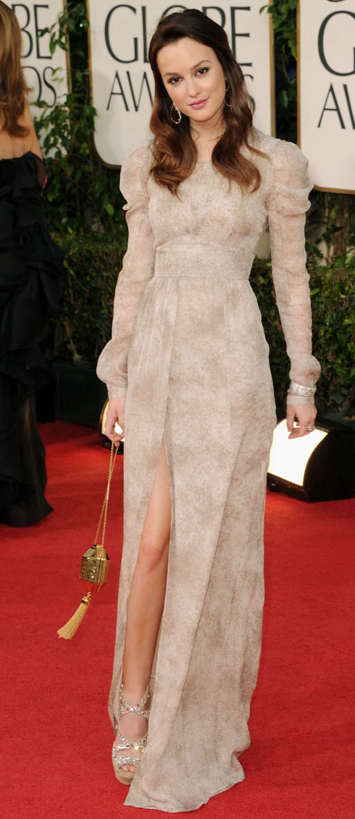 Leighton Meester Golden Globes 2011