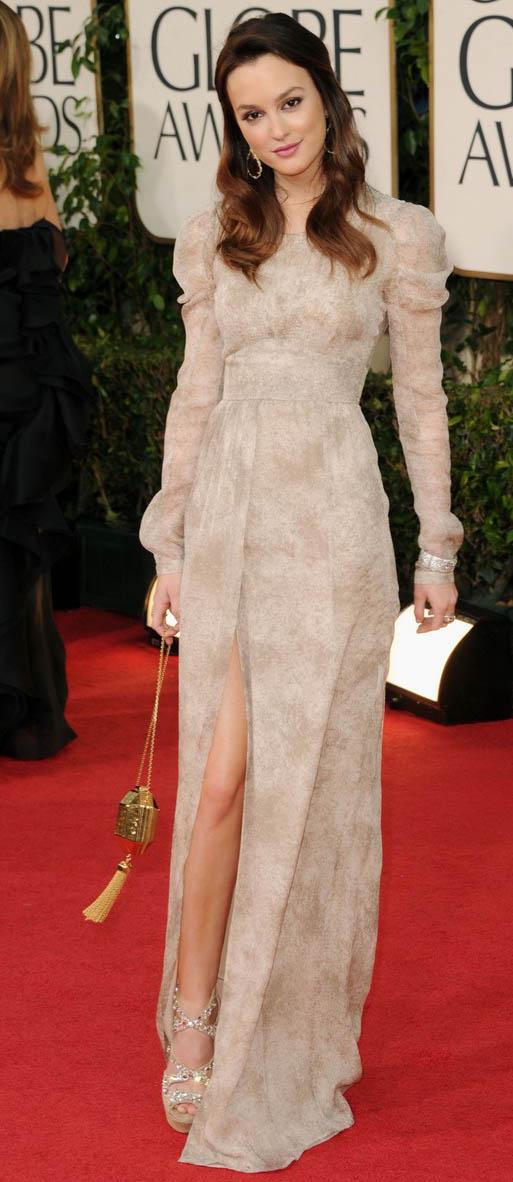Leighton Meester Golden Globes 2011