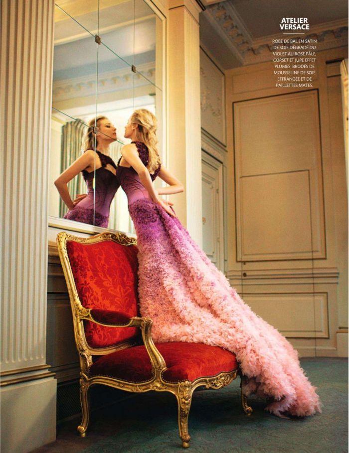 Diane Kruger Madame Figaro Magazine editorial