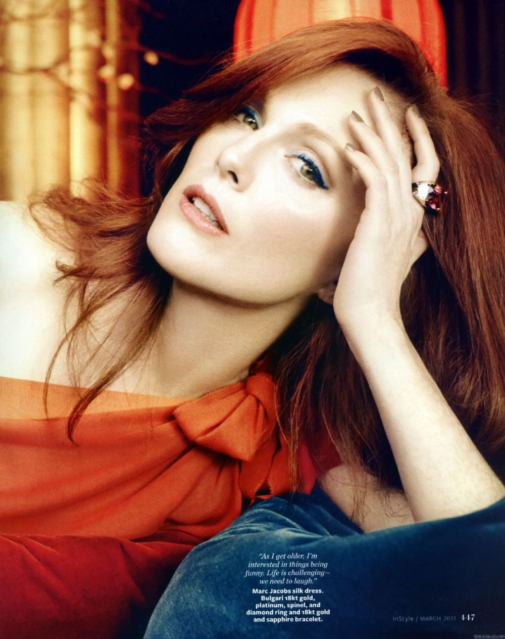 Julianne Moore InStyle Magazine 2