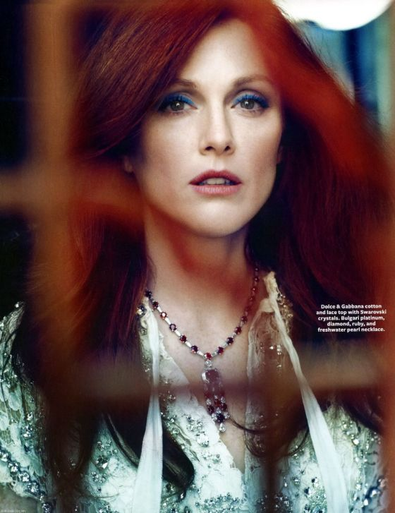 Julianne Moore InStyle Magazine