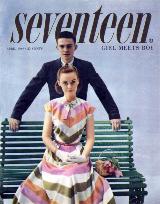 1949 April - Seventeen Magazine cover