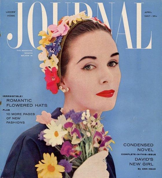 1957 Ladies Home Journal April