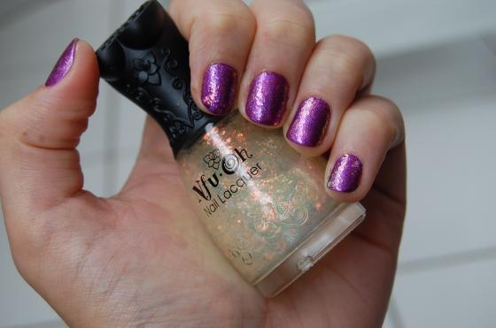 esmalte roxo metálico colorama Nfu Oh flocado 38