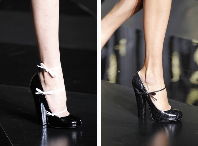 Louis Vuitton shoes Mary Jane fall 2011