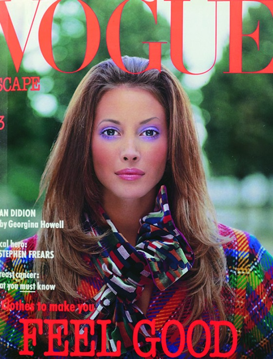 Vogue Cover January 1993 - Christy Turlington