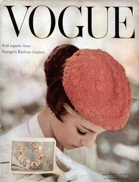 1954 Vogue - March cover