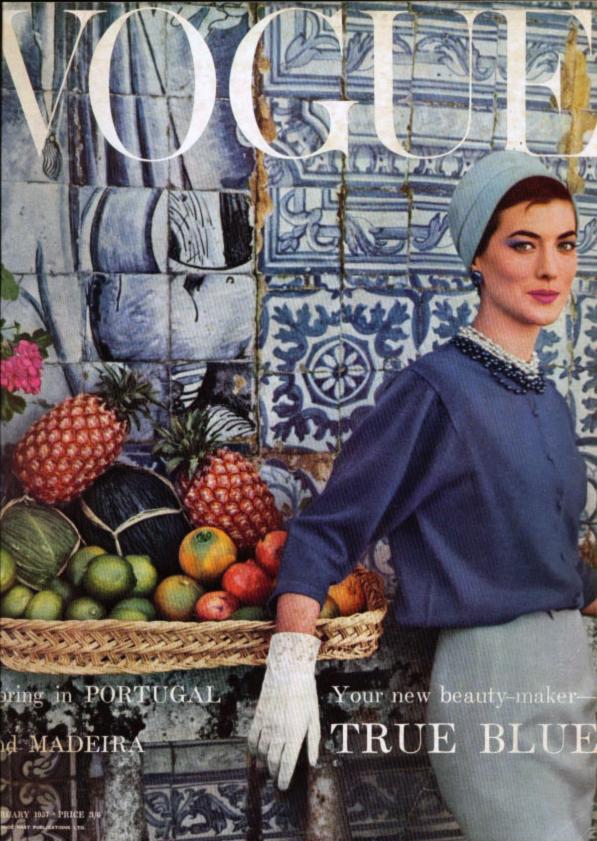 1957 January Vogue cover