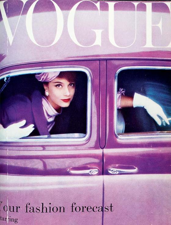 1957 vogue cover august