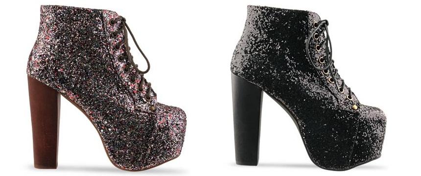 Jeffrey Campbell Lita shoes glitter