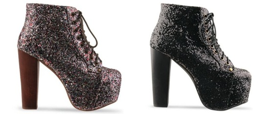 Jeffrey Campbell Lita shoes glitter