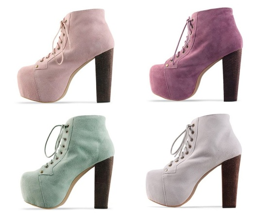 Jeffrey Campbell Lita shoes pastels