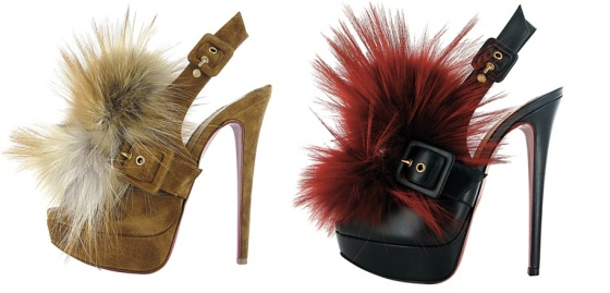 Louboutin-Fall-2011-Splash-Fur-embellished-platform-slingback