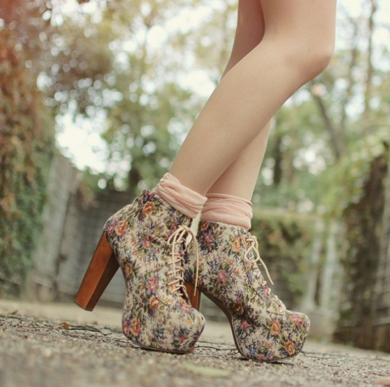 tinytoadstool lita jeffrey campbell flower print shoes