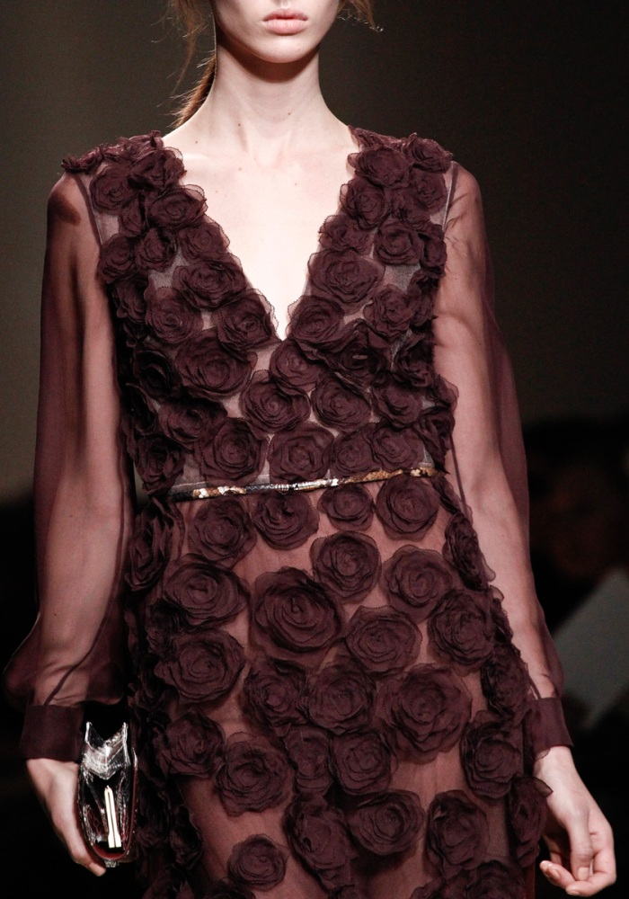 valentino fall 2011 flowers detail 2