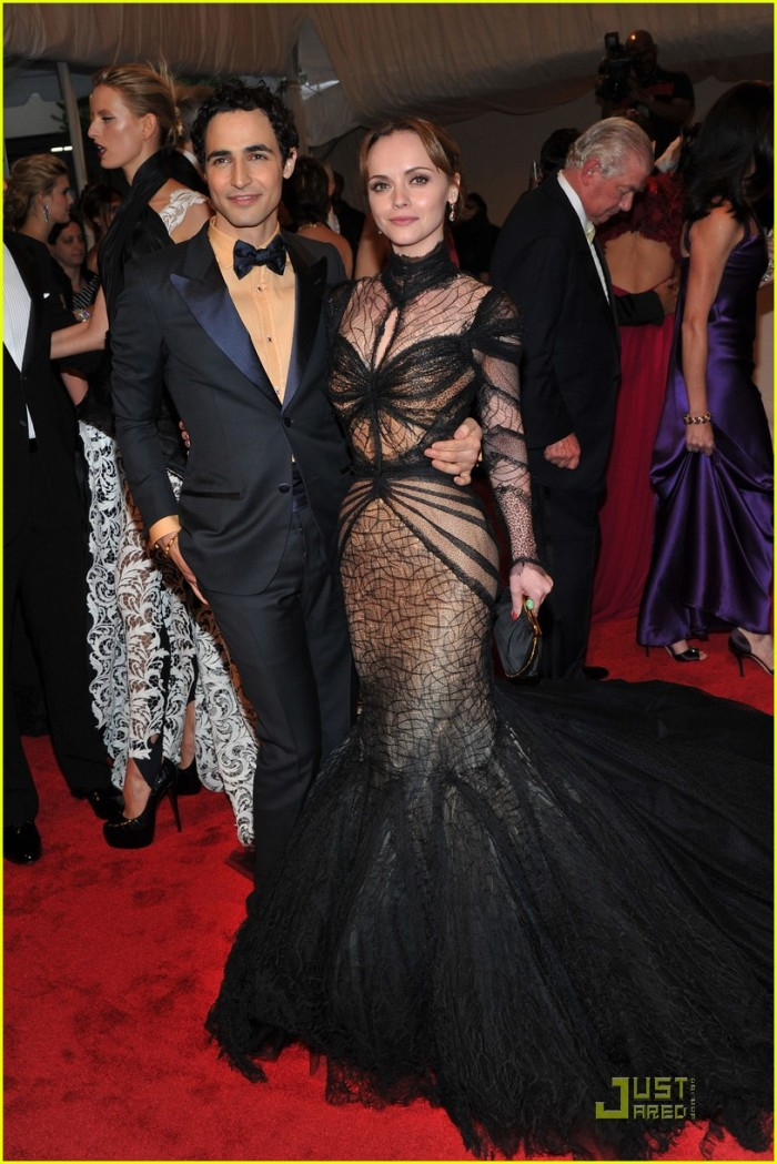 Christina Ricci Zac Posen Dress Met Gala 2011