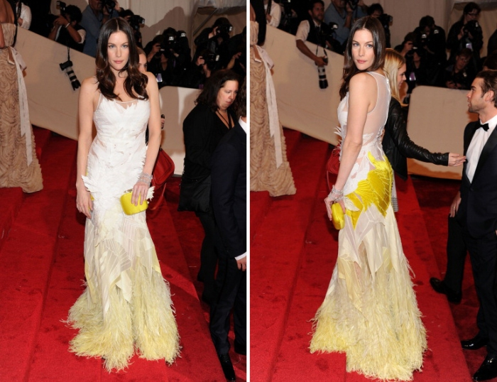 Liv Tyler MET Costume Gala 2011 Givenchy Couture