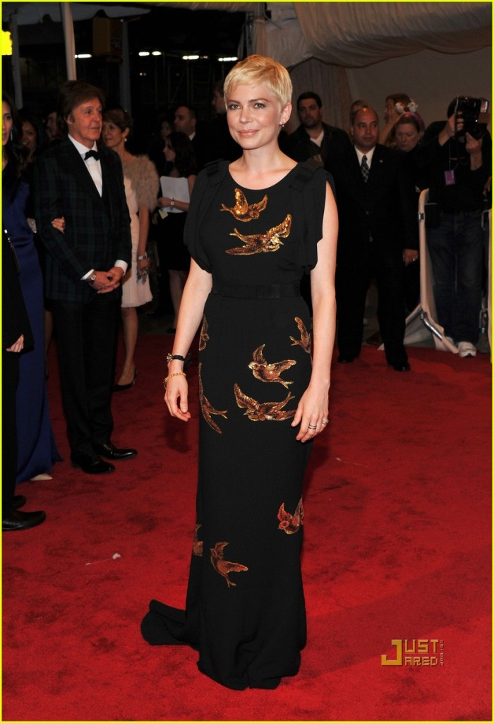 michelle-williams-met-ball-2011-Miu Miu Dress
