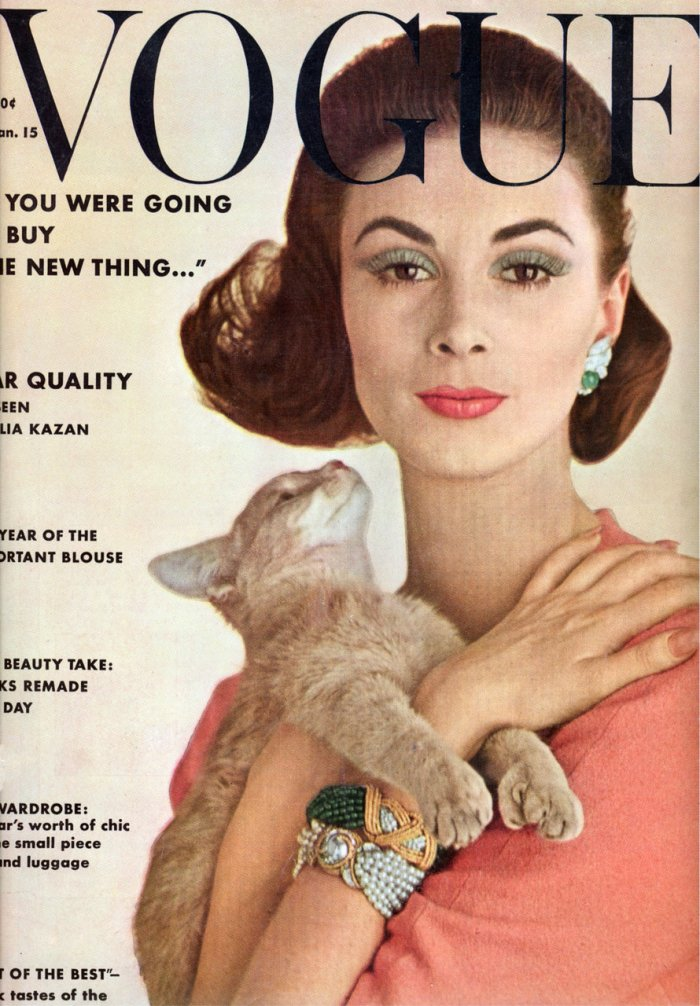 1962 January Vogue cover