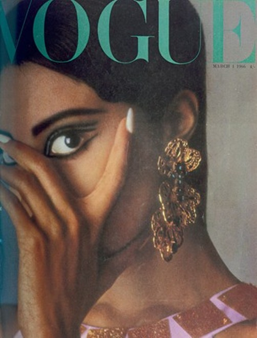1966 Vogue Cover March Donyale Luna