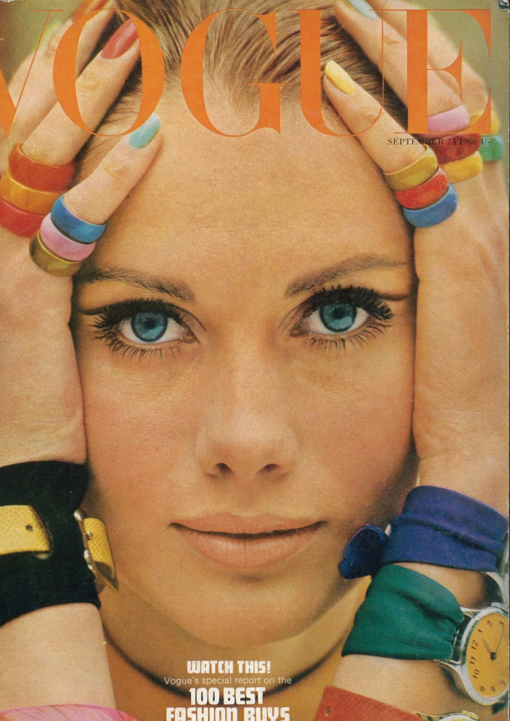 1966 vogue september maud adams cover