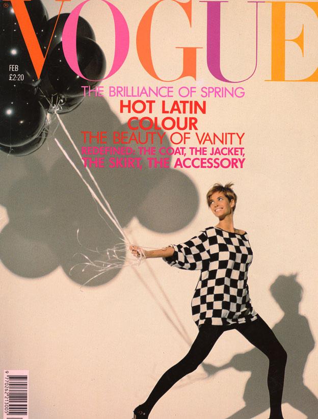 1990 vogue cover february