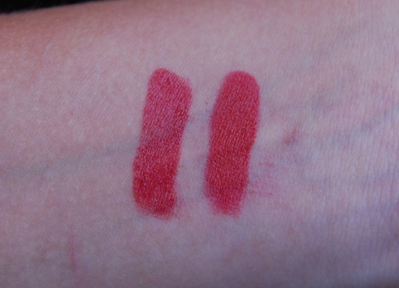 russian red - batom natura aquarela 56 swatch